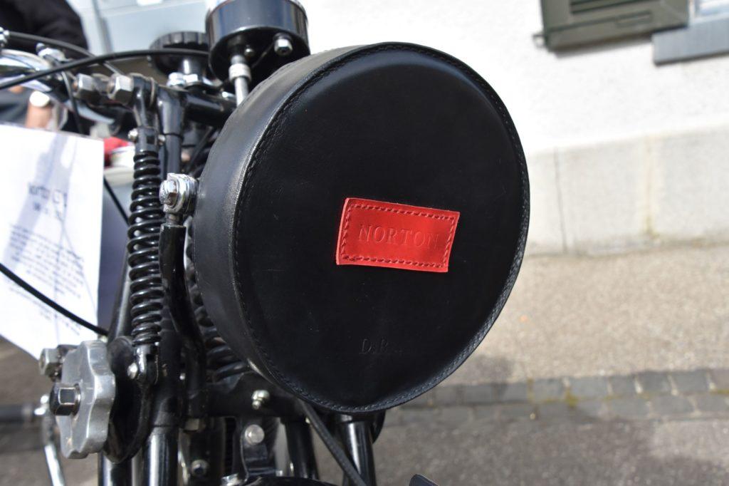 Lampenabdeckung Motorrad