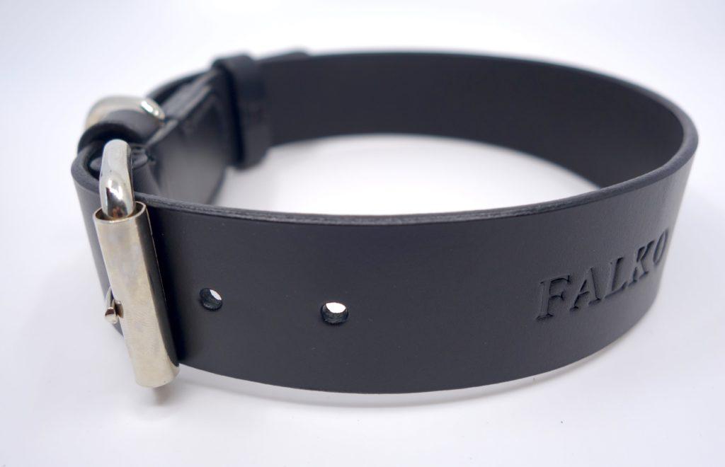 personalisierbares Hundehalsband aus Leder
