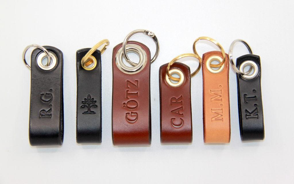 Personalisierbare Schlüsselanhänger