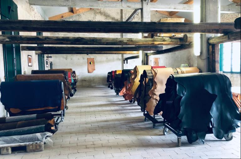 Lederfabrik Gerberei