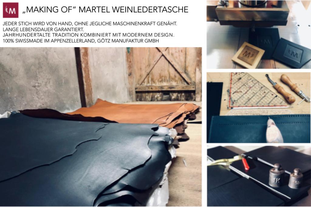 Martel Weinledertasche Götz Manufaktur