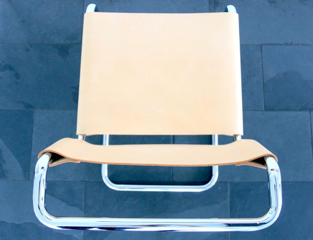 Götz Manufaktur Freischwinger Stühle Naturleder