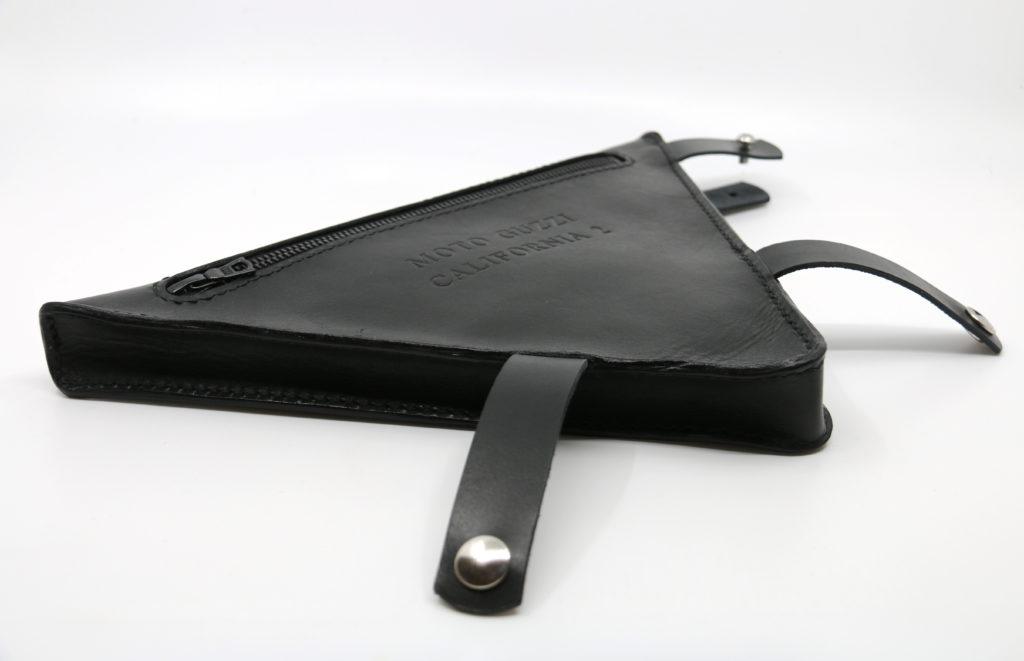 Rahmendreieck Ledertasche Moto Guzzi Götz Manufaktur