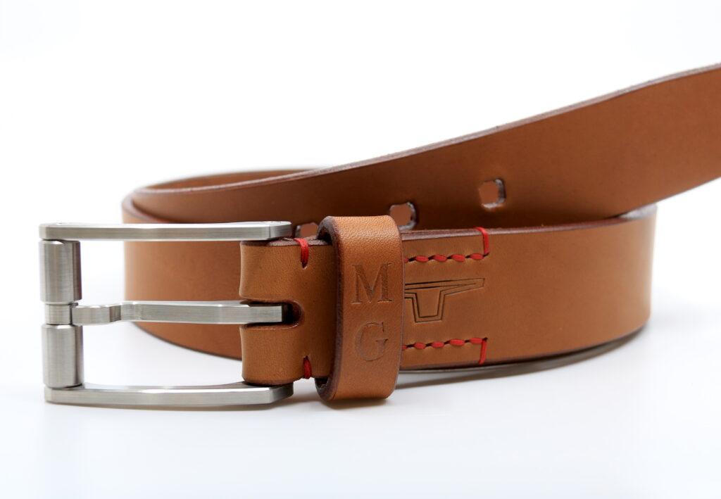 Götz Manufaktur Gürtel mit Waldschmyd High-Grade steel belt buckles