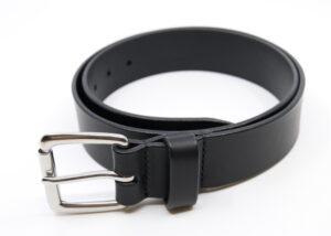Stierleder-Gürtel schwarz Götz Manufaktur