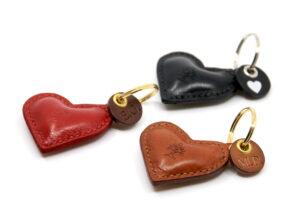 Herz Schlüsselanhänger Leder personalisiert Götz Manufaktur